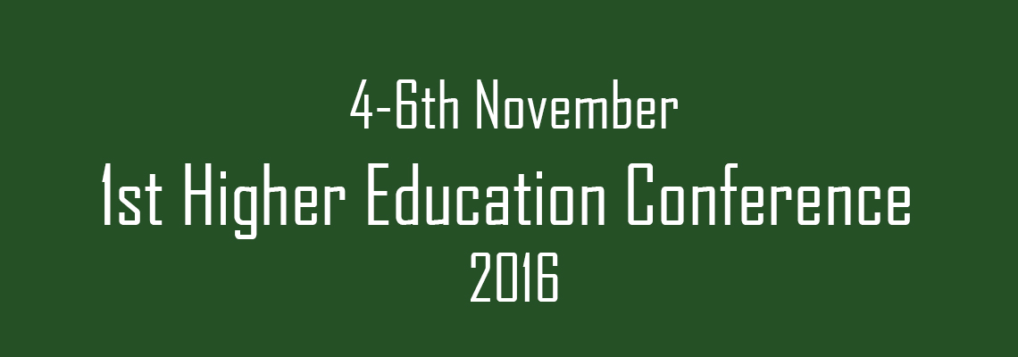 1st Higher Education Conference